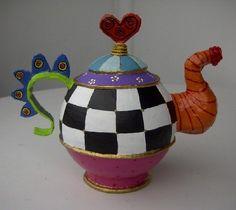 Teapot by Carol M