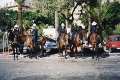 Police in Valletta by Clare Gadsby Tutt  Azure Malta Photo Challenge Week 4
