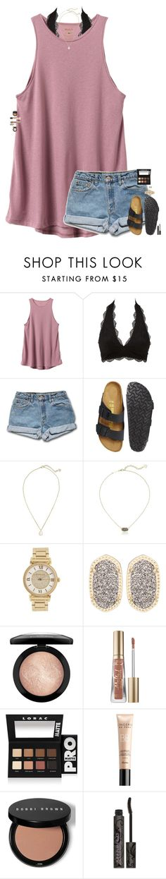 """""""I've been feeling everything from hate to love from love to lust from lust to truth I guess that's how I know you."""" by maggie-prep ❤ liked on Polyvore featuring RVCA, Charlotte Russe, Birkenstock, Kendra Scott, Michael Kors, MAC Cosmetics, Too Faced Cosmetics, LORAC, Guerlain and Bobbi Brown Cosmetics"""