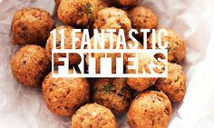Fried patties or rounds, sweet or savory are perfect for any meal and snack time between. Get frying with some of our favorite recipes for every occasion.
