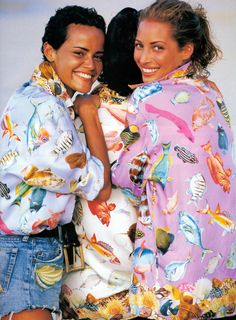 Christy Turlington in Vogue US June 1992