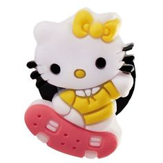 DIY Jewelry Making: Hello Kitty Skate Croc Charm Jibbitz Style by Kitty. $1.99. Croc charm only. Must purchase bracelet band separately.. Width: 5mm - 25mm. Height: 20mm - 30mm. DIY Jewelry Making: Hello Kitty Skate Croc Charm Jibbitz Style Croc Charms, Sanrio Hello Kitty, Diy Jewelry Making, Crocs, Skate, Bracelet, Band, Outfit, Accessories