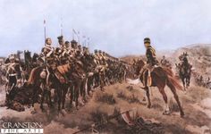 The 17th lancers were the first to reach the Russian guns at the end of the Valley. From the 673 men who started the charge, 113 men were killed and many others wounded. The Light Brigade was made up of the 4th and 13th Light Dragoons, 8th and 11th Hussars and the 17th Lancers.  The Light Brigade had 195 mounted survivors, leaving 113 dead and 134 wounded with 231 unhorsed men. After the charge of the Light Brigade, the Roll is shown being carried out.