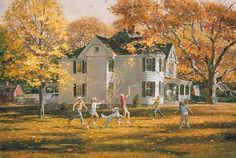 Robert K. Abbett - Can't believe I'm seeing this painting - we bought ours about 20 years ago.