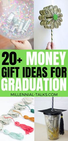 Fun Graduation Money Gift Ideas For Your Grad Hello everyone! Graduation is right around the corner, and you're looking for. Graduation Party Foods, High School Graduation Gifts, Graduation Party Decor, Grad Gifts, Diy Gifts, Graduation Ideas, Graduation Cards, Grad Parties, Money Balloon