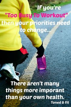 Excuses will always be there for you. Make your health a priority starting today. ~ Re-Pinned by Crossed Irons Fitness