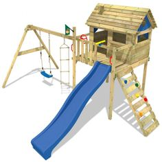 Spielturm Smart Plaza, Stelzenhaus