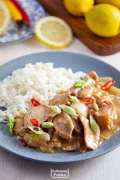 kurczak-cytrynowy-z-ryzem-przepis-1 Healthy Recipes, Healthy Meals, Food And Drink, Beef, Healthy Crock Pot Meals, Meat, Healthy Diet Meals, Healthy Eating Recipes, Clean Eating Recipes