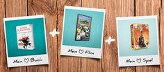 Schaut euch mein Bücher.de Wunsch-Set aus Buch, Film und Spiel an. Welches Set würdet ihr wählen?