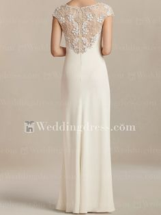 Informal Wedding Dress with Beaded Top Crepe Wedding Dress, Weeding Dress, Bridal Wedding Dresses, Informal Wedding Dresses, Informal Weddings, Ball Dresses, Nice Dresses, Celebrity Prom Dresses, Designs For Dresses