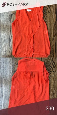 7cc21eab724a Aritzia Tanktop This coral and summery tank is perfect for spring and  summer! It is