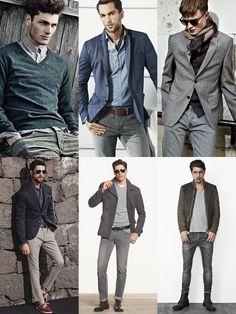 2014 Spring/Summer Capsule Wardrobe Pick: A Pair Of Grey Jeans Lookbook Inspiration