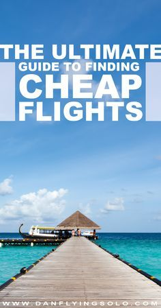 20 tips that will help you find the cheapest flights to fly anywhere in the world. Cheap flights are not a myth, you just need patience and flexibility.