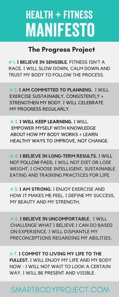 Go for progress. Little by little, a little becomes a lot!