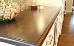 Walnut bar top. Deer Run Kitchen Remodel // Martin Brothers Contracting