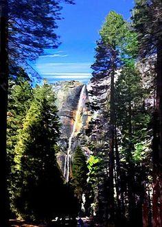 Bob and Nadine Johnston - Trail to Yosemite Falls