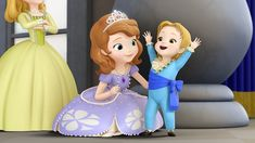 Disney Junior's hit story about an ordinary girl who becomes a princess, Sofia the First is back for a second season starting March 2014 Princess Music, Disney Princess Games, Disney Princess Cinderella, Princess Elena Of Avalor, Princess Sofia The First, Two Princess, Cartoons Love, Disney Cartoons, Kid Movies