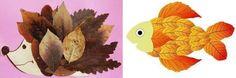 Поделки из осенних листьев - фото, идеи поделок из листьев - делаем своими руками