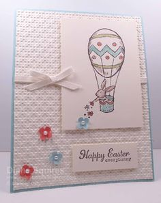 Stampin' Up! Easter Hot Air Balloon
