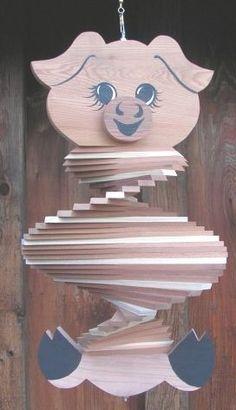 Pig Wind Spinner