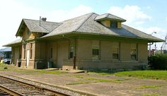 The former train depot on Wheeling Ave