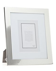 Fluted Picture Frame