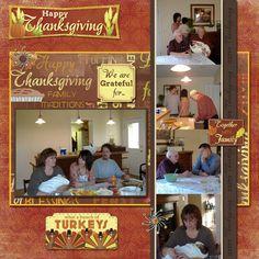 Thanksgiving Layout