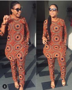 Stunning Ankara Tops And Trouser Styles For Super Ladies African Fashion Ankara, Latest African Fashion Dresses, African Dresses For Women, African Print Dresses, African Print Fashion, Africa Fashion, African Attire, African Wear, African Women Fashion