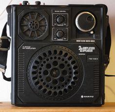 Radios, Digital Radio, Transistor Radio, Record Players, Boombox, Old Tv, Nostalgia, Gadgets, Tech