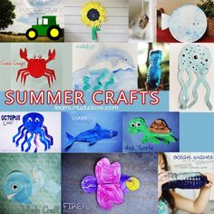 The Best DIY of the Day: { Summer Crafts Compilation }
