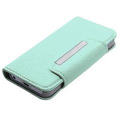 Ebay Apple iPhone 5 Protector Premium Book-Style MyJacket Wallet Light Green 738 Case $16