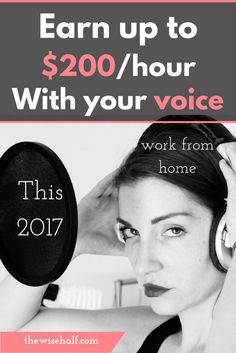 Work from home with your voice. Find out how to get started and land your first voice acting gig, voice artist, voice over