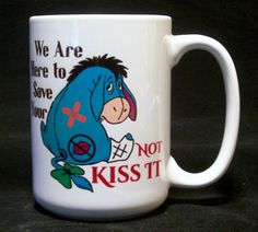 We Are Here To Save Your Ass Not Kiss It Coffee Cup Valentines day gifts, rn gifts, Lawyer gifts, Doctor gifts by Etchddreams on Etsy https://www.etsy.com/listing/198642680/we-are-here-to-save-your-ass-not-kiss-it