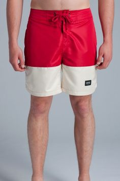 Lifetime Collective / Uniform Standard / SHORTS / TOPANGA - TANGO RED