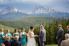 A Travel Themed Wedding in Keystone – Luxe Mountain Weddings Wedding Shit, Wedding Blog, Destination Wedding, Keystone Resort, What A Beautiful Day, Print Magazine, Travel Themes, Rocky Mountains, Vows