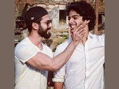 Shahid Kapoor confirms brother Ishaan Khatter's debut in films with this heartwarming message - Less famous star kids Happy Hour Party, Brother And Sister Relationship, Anastasia Ashley, Shahid Kapoor, Instagram And Snapchat, Famous Stars, Times Of India, Photo Story