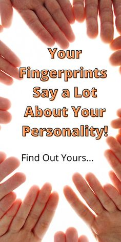 Look at your fingers and find in the image the imprint that looks like yours, and read the answer: Spiritual Psychology, Awakening, Did You Know, Like You, Behavior, Personality, That Look, Spirituality, Sayings