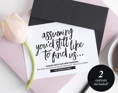 New Home Announcement Postcard Moving Announcement Cards New New House Announcement, Announcement Cards, New Address Announcement, New Address Cards, Moving Announcements, Online Invitations, Invites, Font Names, First Home