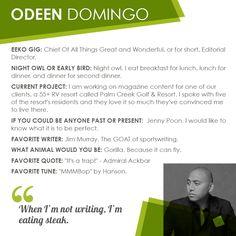 #OdeenDomingo #writer #founder http://eekostudio.com