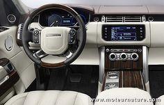 range rover sport 2013 interior - Google Search