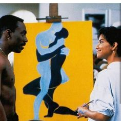Eddie Murphy and Halle Berry in Boomerang My Black Is Beautiful, Black Love, Black Art, Groove Theory, History Icon, Love Jones, Sugar Love, Eddie Murphy, Boys Online