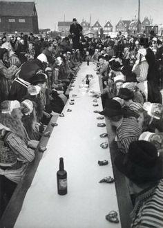 Marken 1947 ijs bruiloft