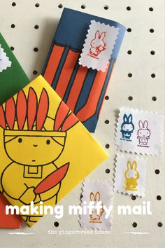 making miffy mail