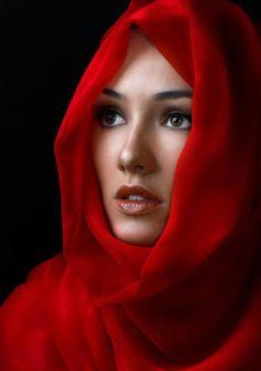 Chica de Rojo