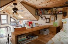 Maiden Mansion Tiny House Vacation in Seattle built by Pocket Mansions.