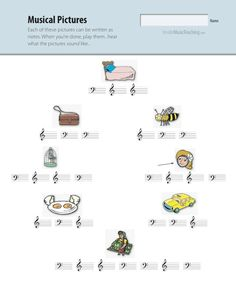Cute music worksheets for elementary students! Piano Lessons, Music Lessons, Piano Music, Piano Games, Best Piano, Music Lesson Plans, Music Worksheets, Piano Teaching, Music Activities