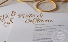 Purchase Wedding Invitations Online Australia | Alannah Rose Stationery