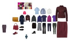 """сет 10 - многослойность"" by pro04 on Polyvore featuring мода, Givenchy, J.Crew, Uniqlo, MANGO, Saks Fifth Avenue Collection, Amapô, River Island, J Brand и Fendi"
