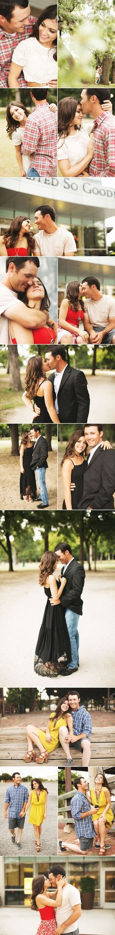 engagement photo ideas. Exactly what I'm looking for. Who wants photos of u looking ugly with your hair half done and your makeup 3/4 done in your engagement album?!