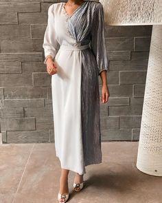 Modest Fashion Hijab, Modesty Fashion, Fashion Dresses, Hijab Evening Dress, Hijab Dress Party, Abaya Mode, Mode Hijab, Arab Fashion, Muslim Fashion
